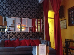 Lounge at Alfama Patio Hostel